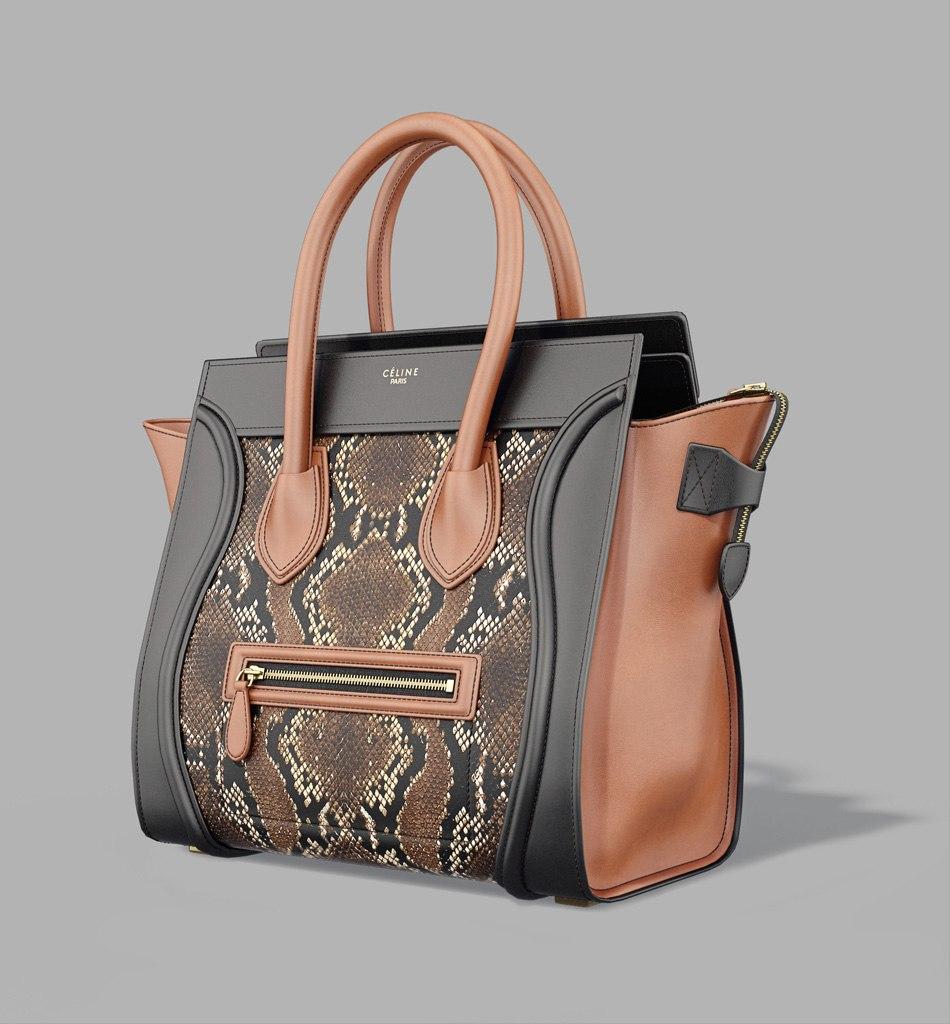 3d Model Celine Luggage Bag Tsymbals Design