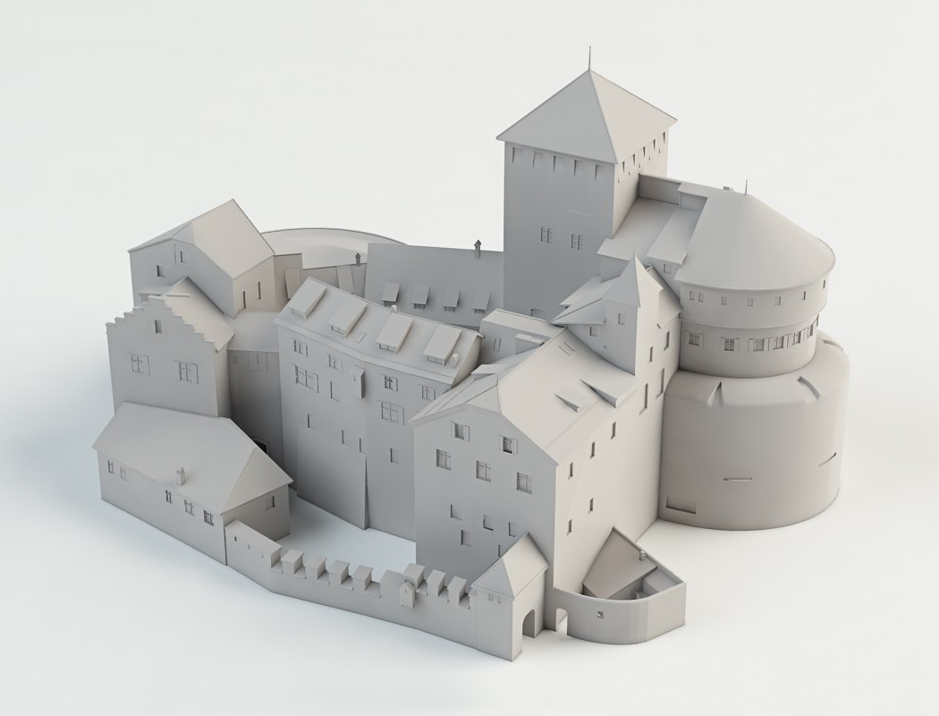 3D print model Castle by Tsymbals