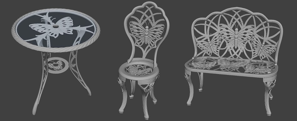 "3D model for printing ""furniture"" by Tsymbals"
