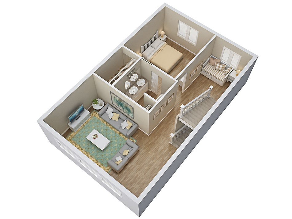 3d House Floor Plan Tsymbals Design
