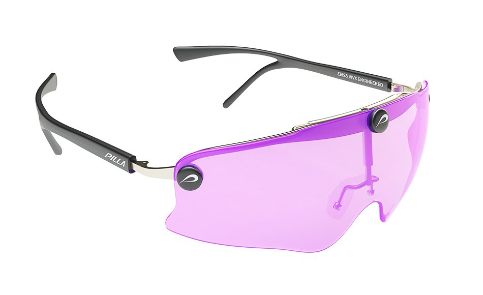 Pilla sport glasses - front view by Tsymbals