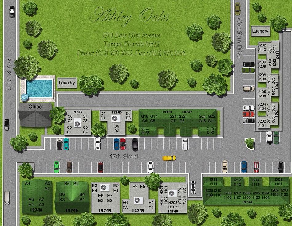 3d model of parking 1