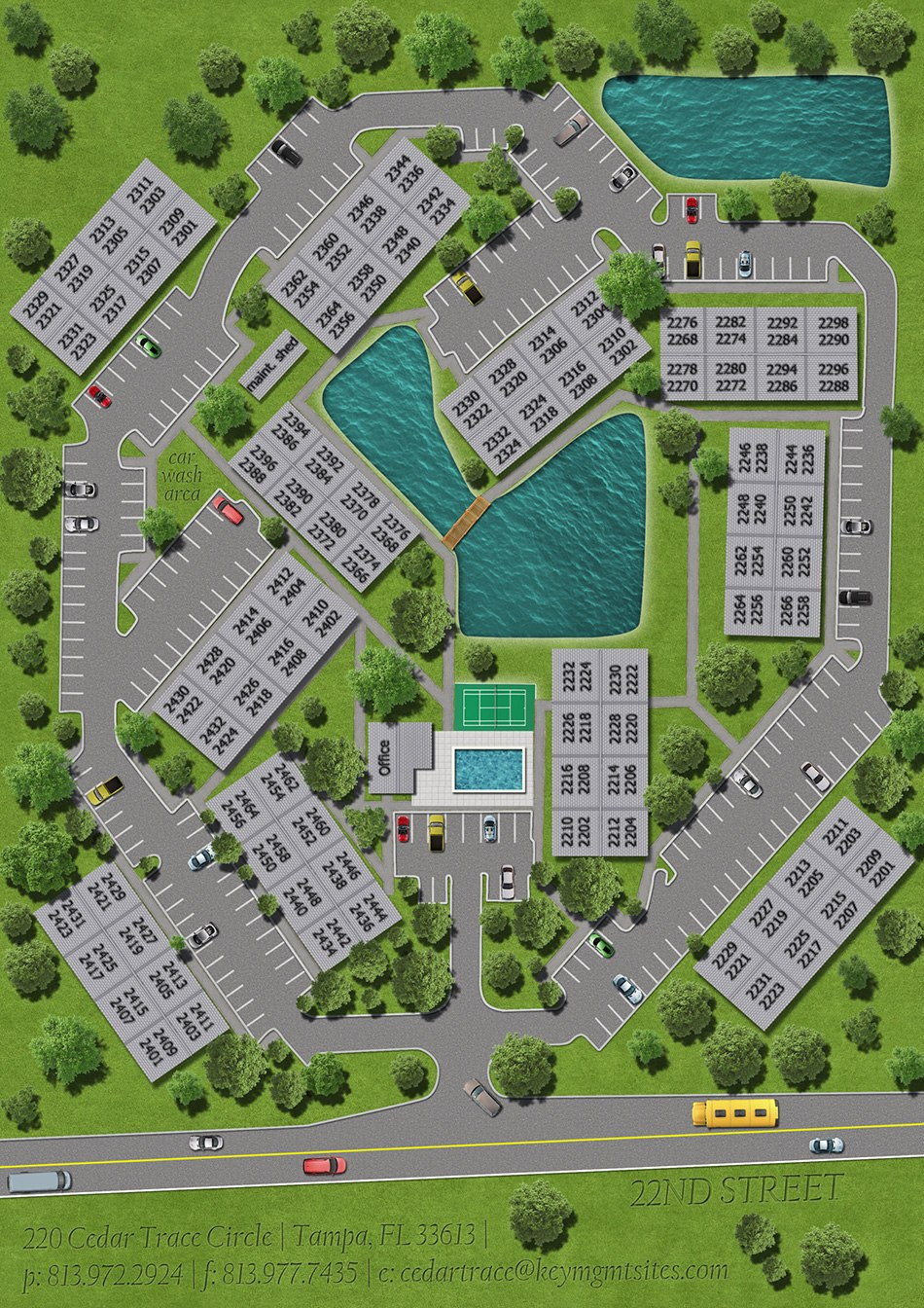 3D Site Plans drawing 3d exemple by Tsymbals