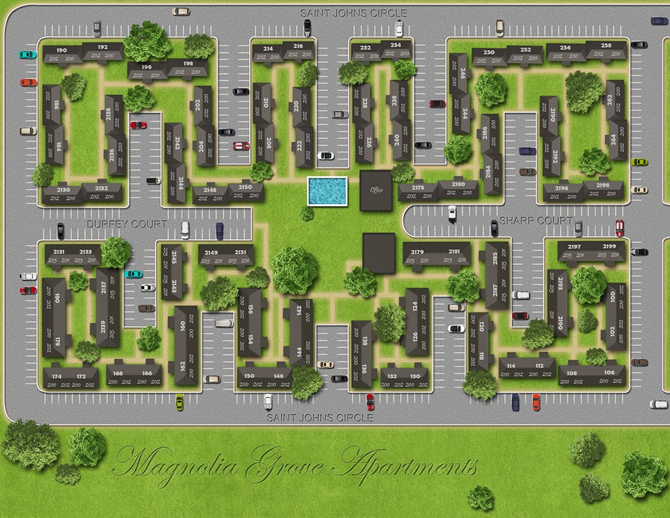 3D Site Plans drawing 6 exemple by Tsymbals