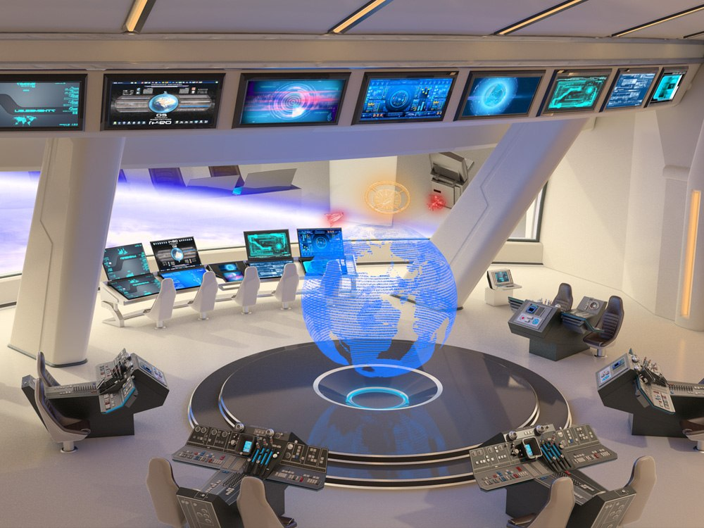 3D Space Station Hotel 2 image by Tsymbals