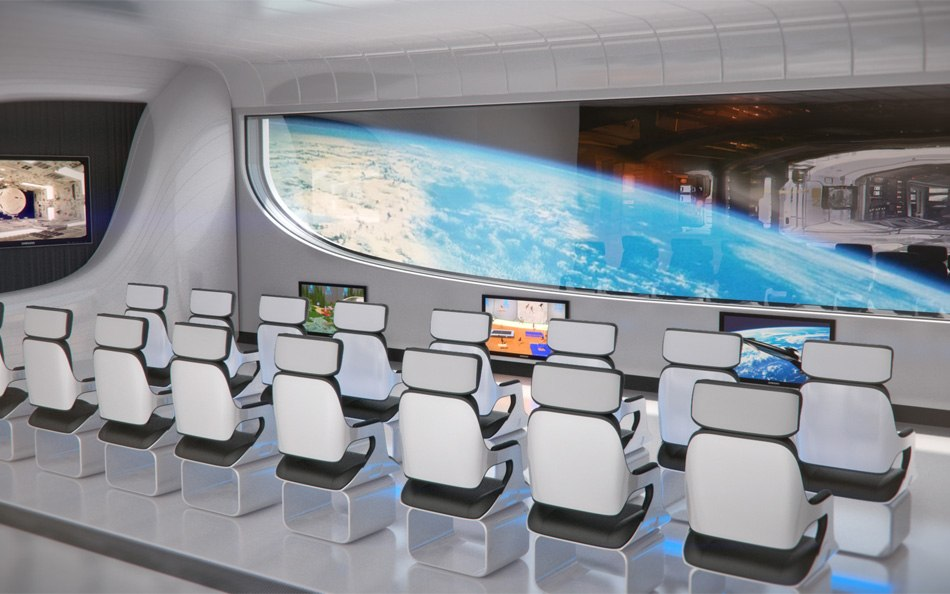 3D Space Station Hotel 3 image by Tsymbals