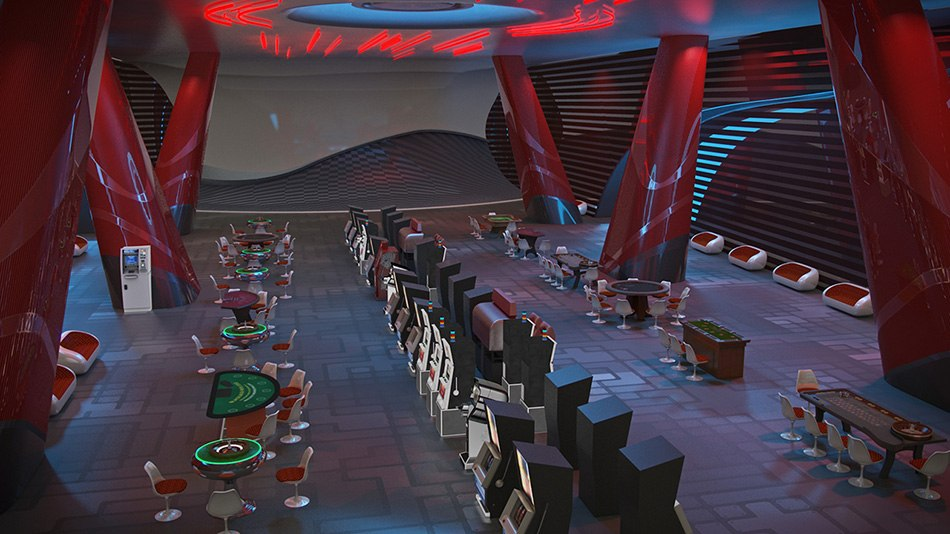 3D Space Station Hotel 9 image by Tsymbals