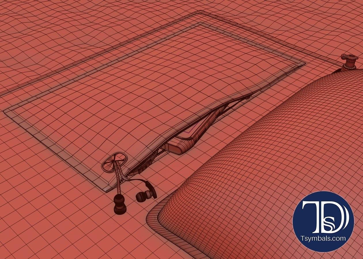 Towel design 3d 01