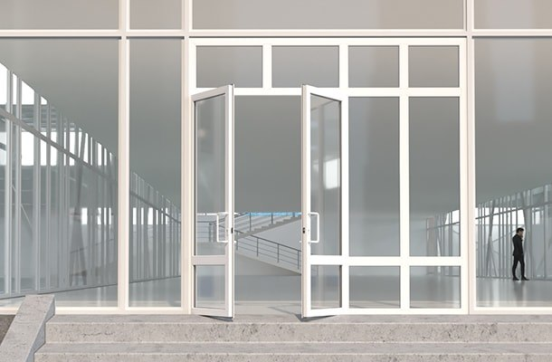 Club entrance 3d model