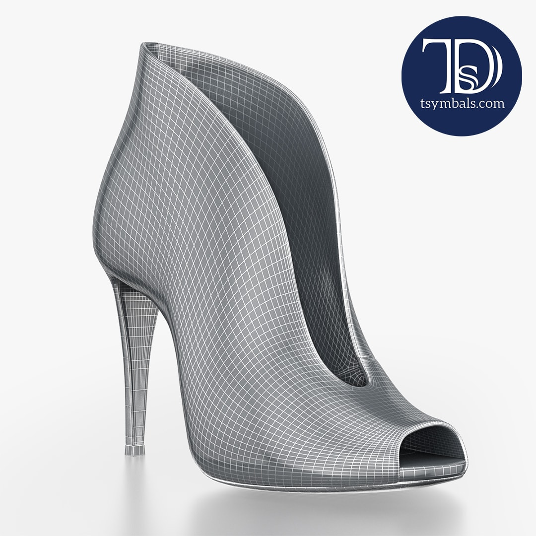 Gianvito Rossi Photorealistic 3D shoes | Tsymbals Design