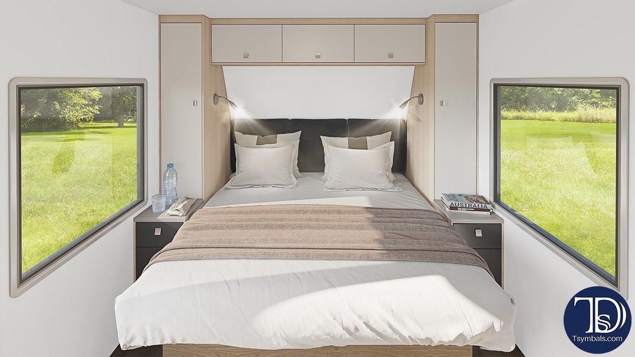trailer visualization bedroom