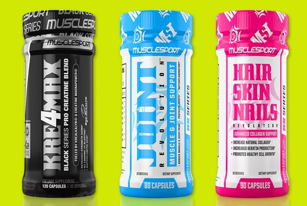 Supplement products 3D Visualization