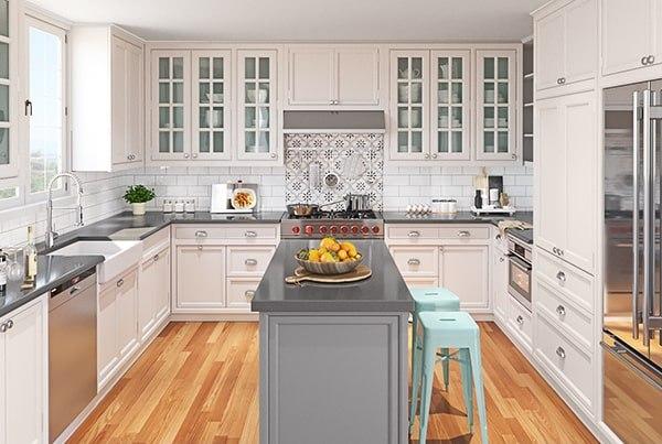 Kitchen Renovation Renderings
