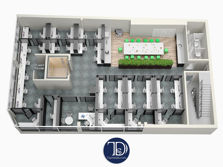 3d floor plans renderings visualizations tsymbals design - 3d floor plan free ...