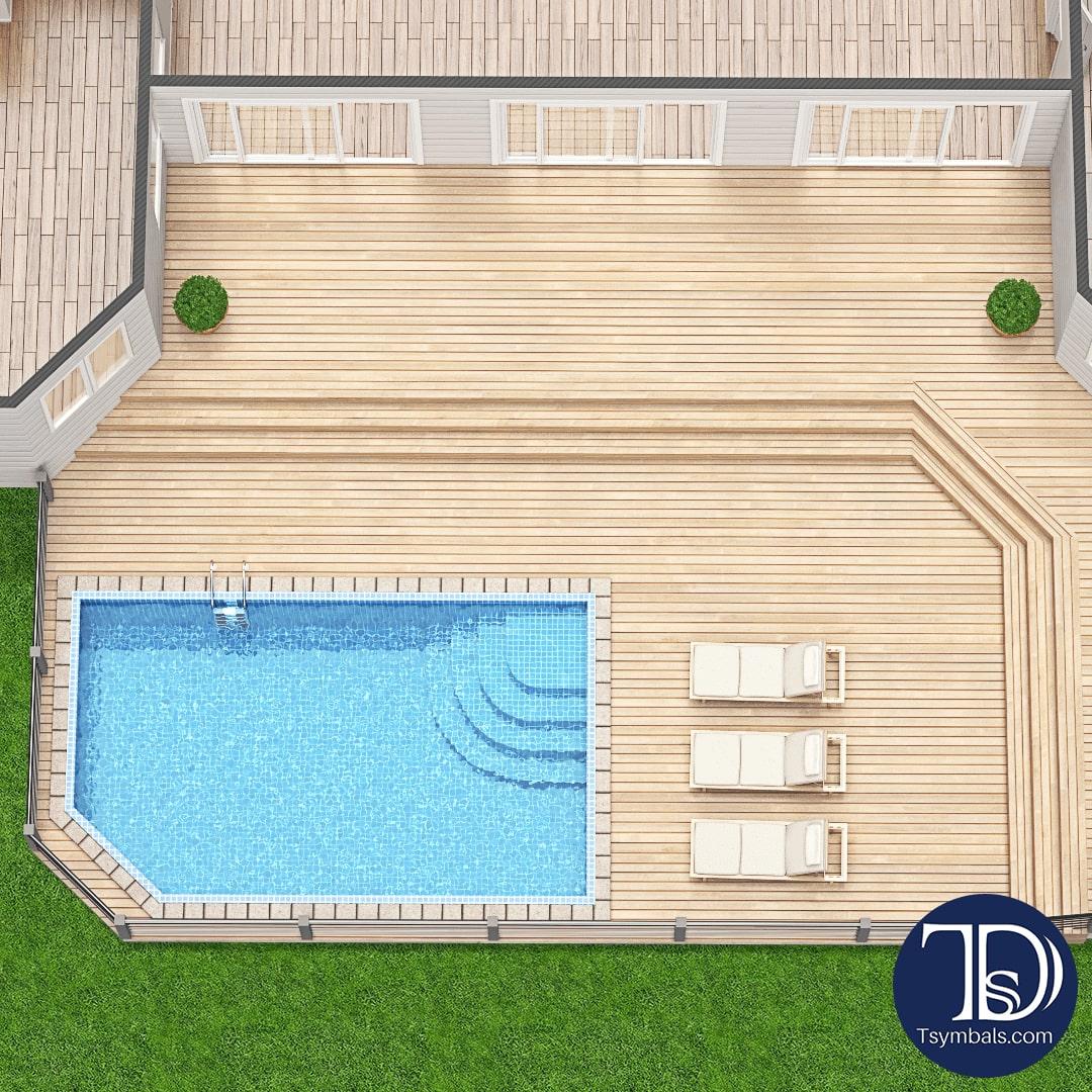 patio 3d floor plan