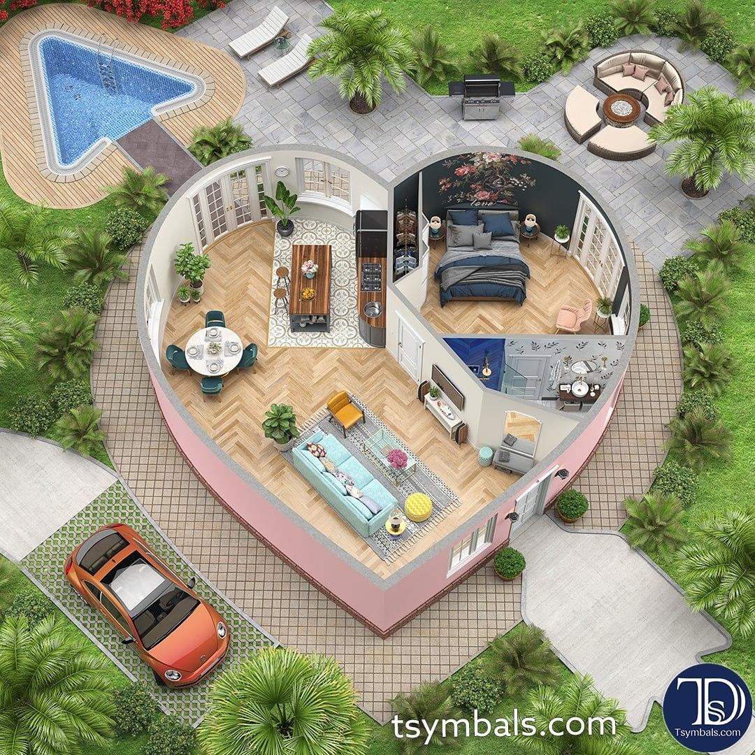 Floor design 3d