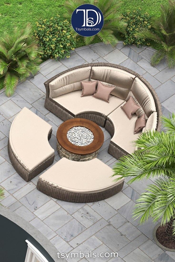 Love nest backyard space