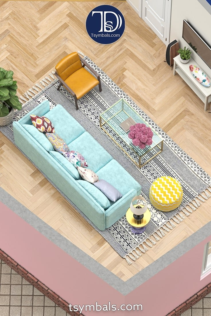 Love nest living room couch
