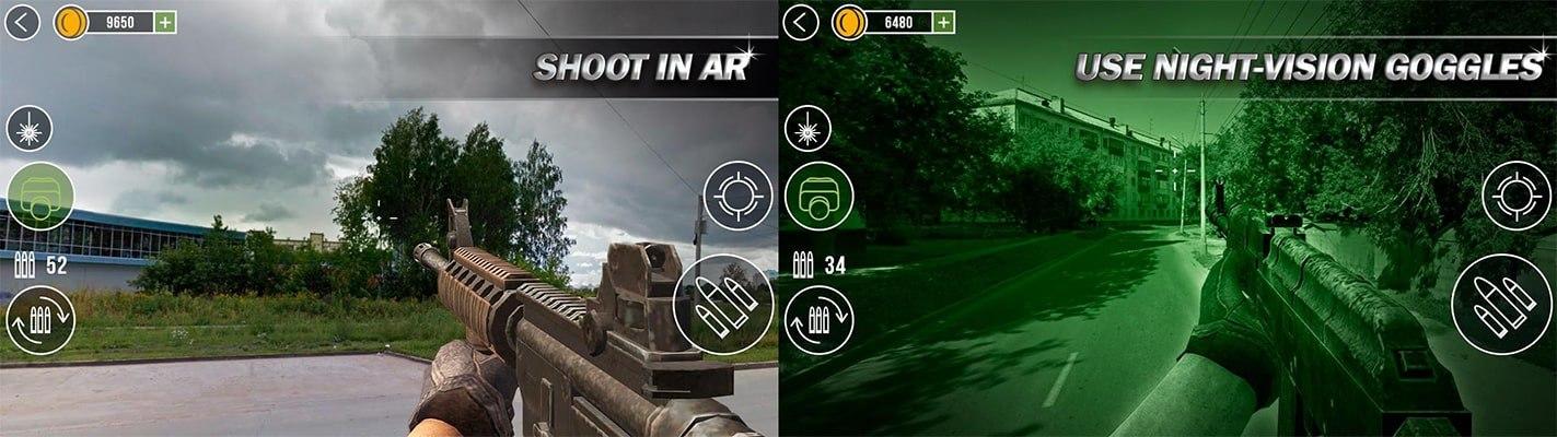 Gun Camera 3D Simulator screen