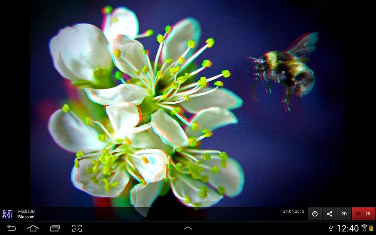 Phereo 3D Photo screen