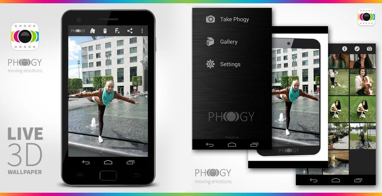 Phogy screen
