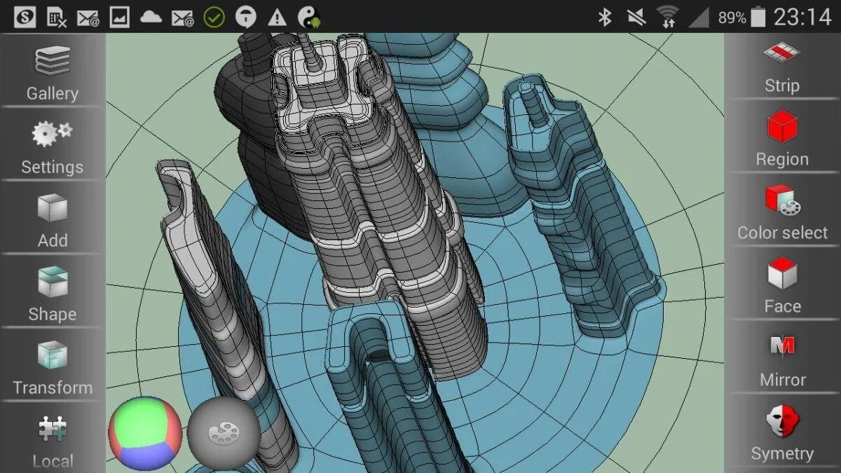 SDF 3Dscreen 3d model