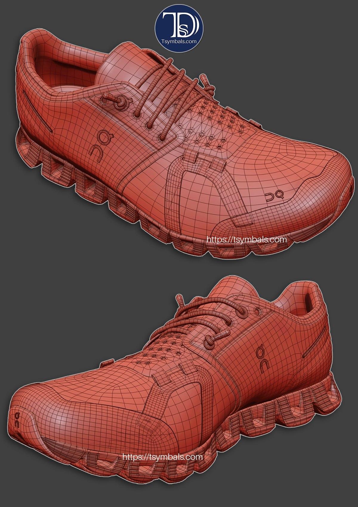 shoe renderings