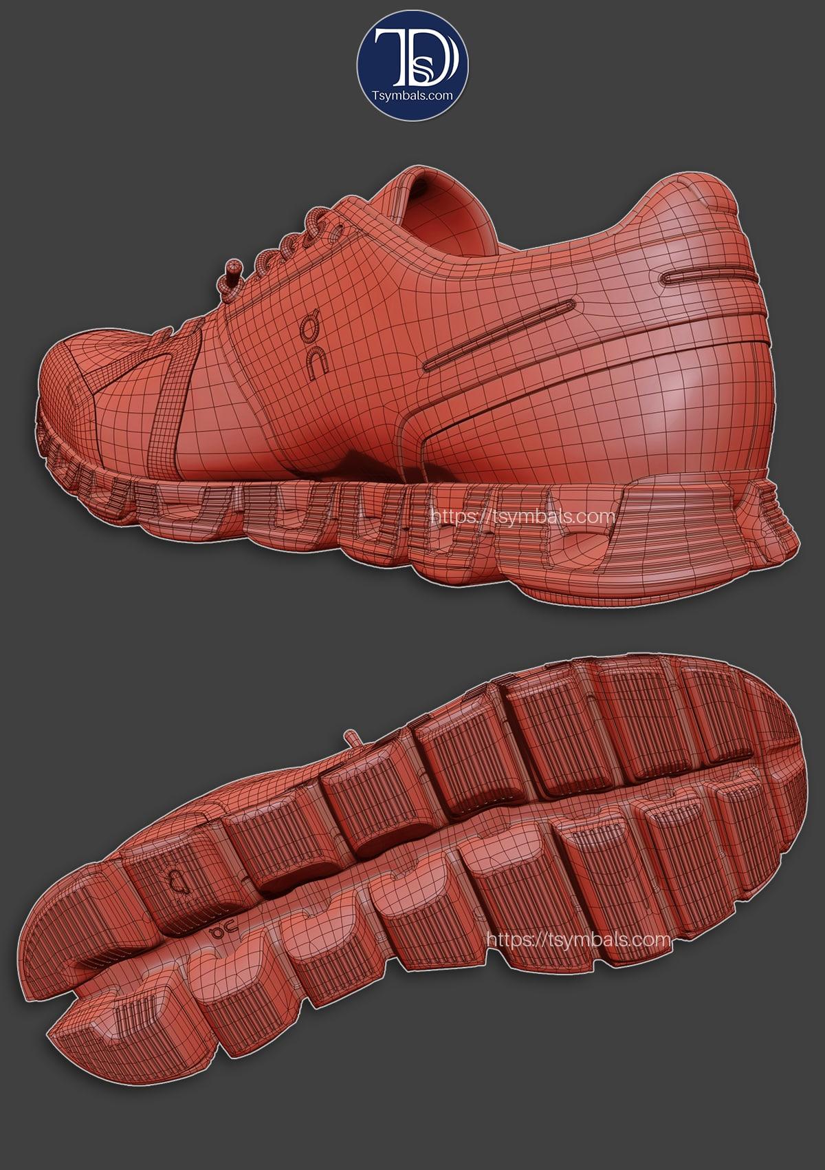 shoe 3d models