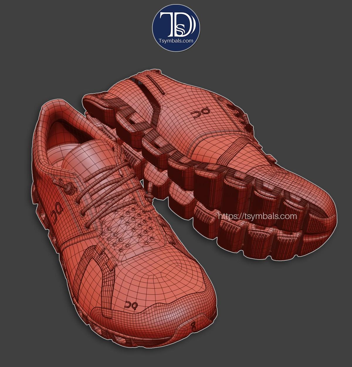 digital shoe design
