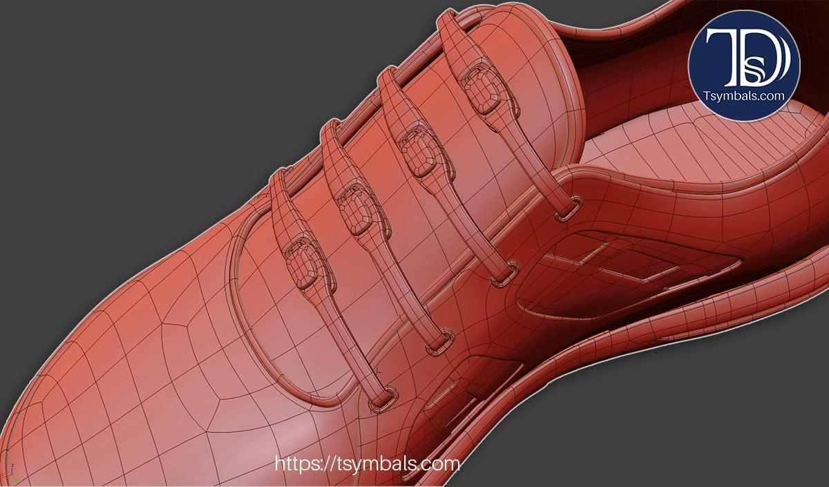 woman sport sneakers 3d concept 03