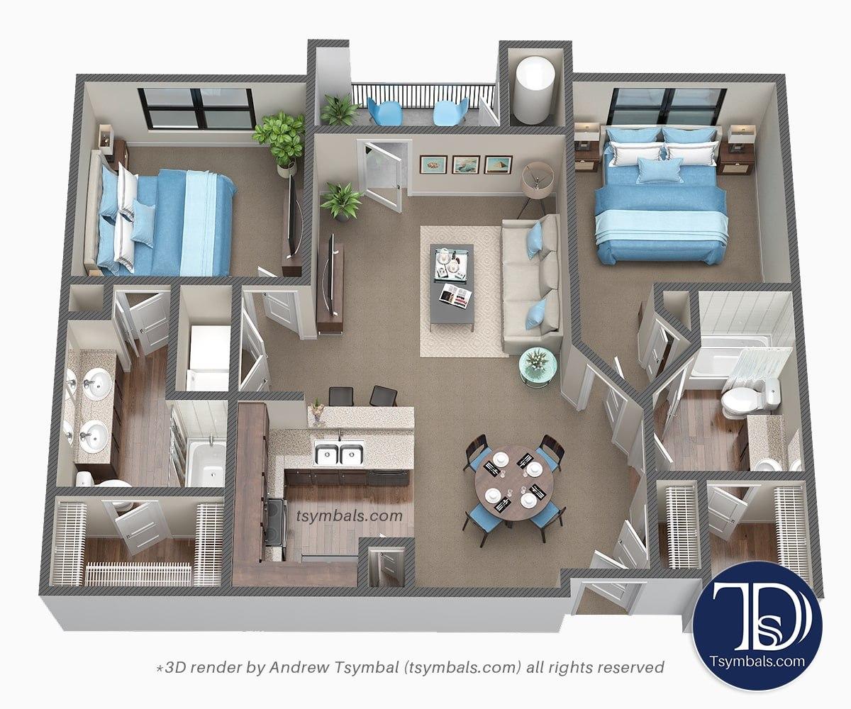 3d floor plans image