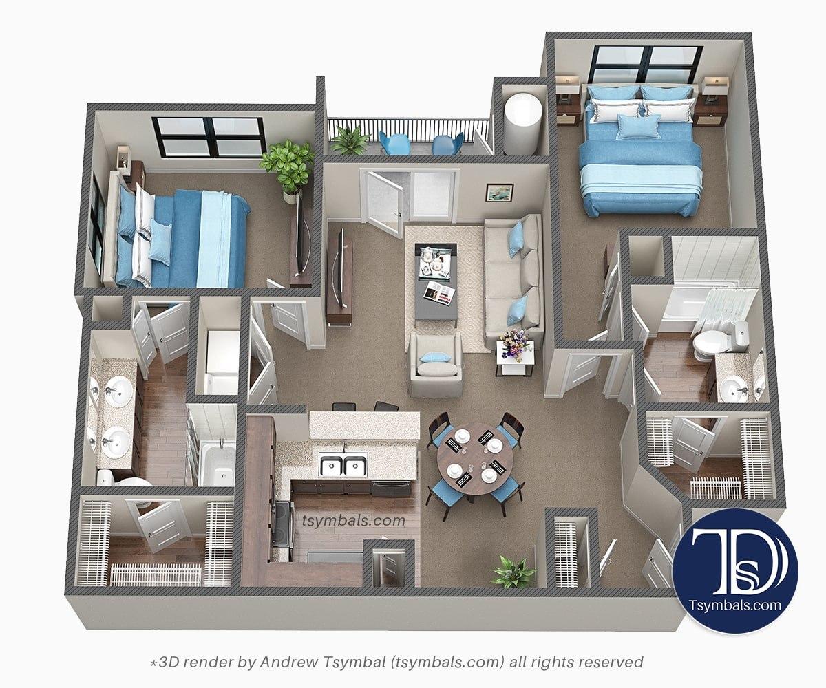 3d floor images