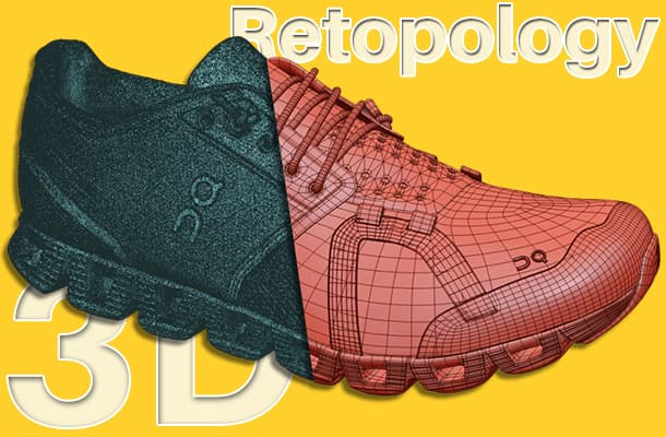 3D Retopology Service