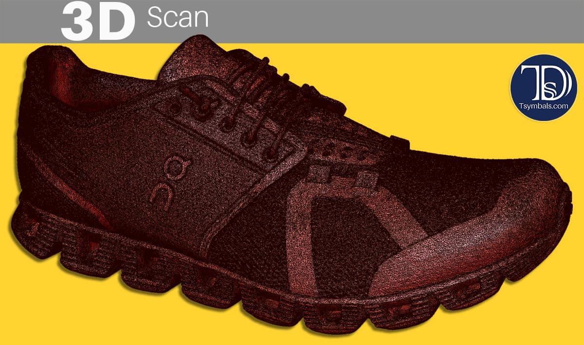 Shoe 3D scan mesh